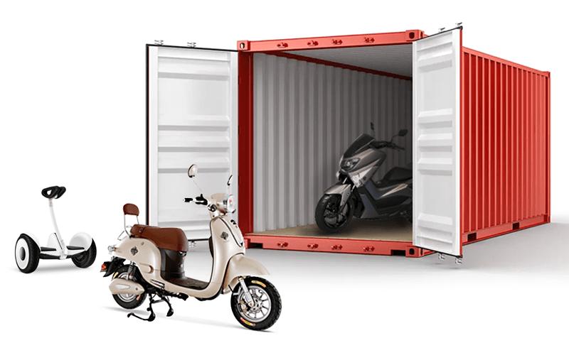 Хранение мотоциклов
